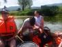 Rafting po Krki 9. 7. 2017